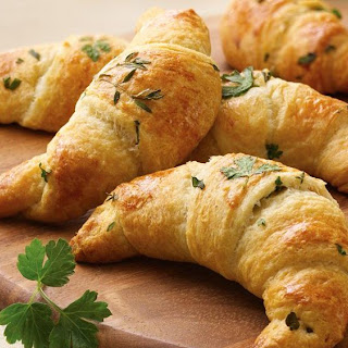 Crescent Rolls with Fresh Herbs.