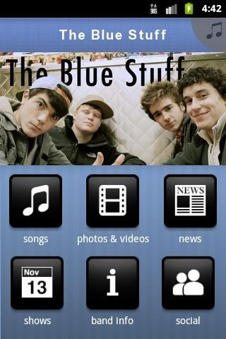 The Blue Stuff - screenshot