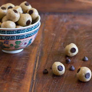 Raw Unprocessed Cookie Dough Bites.