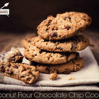 Coconut Flour Chocolate Chip Cookies.