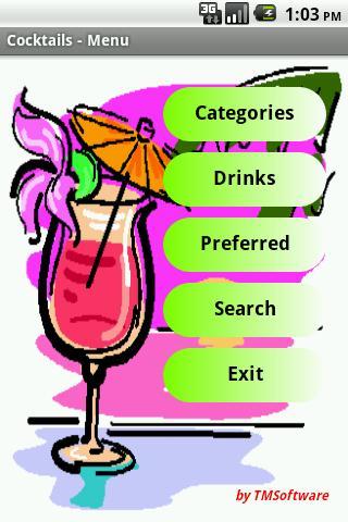Cocktails- screenshot