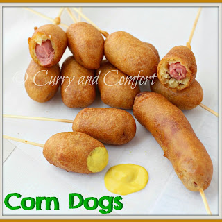 Lollipop Corn Dogs (Throwback Thursday)