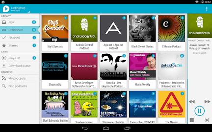uPod Podcast Player Screenshot 17