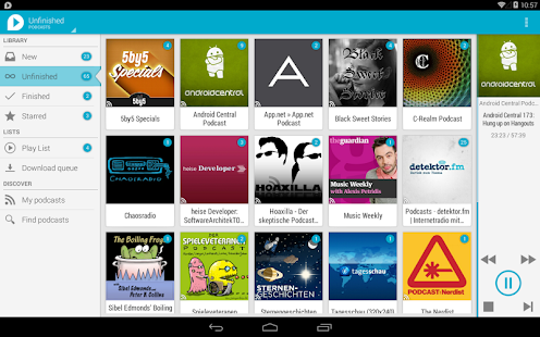 uPod Podcast Player Screenshot 26