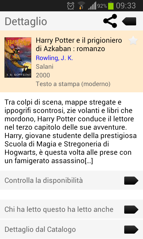 BiblioMo - screenshot