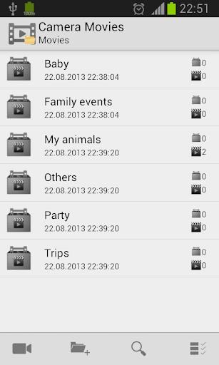 Videos Folders
