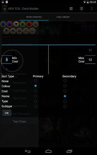 【免費娛樂App】Hex TCG - Deck Builder-APP點子