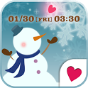 Cute wallpaper★From Snowman icon