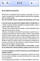 Screenshot of B-MED Bulas Médicas