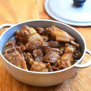 Chicken and Pork Adobo.