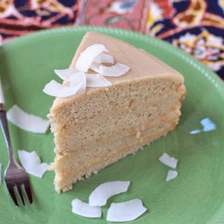 Healthy Coconut Cake with Coconut Frosting Recipe