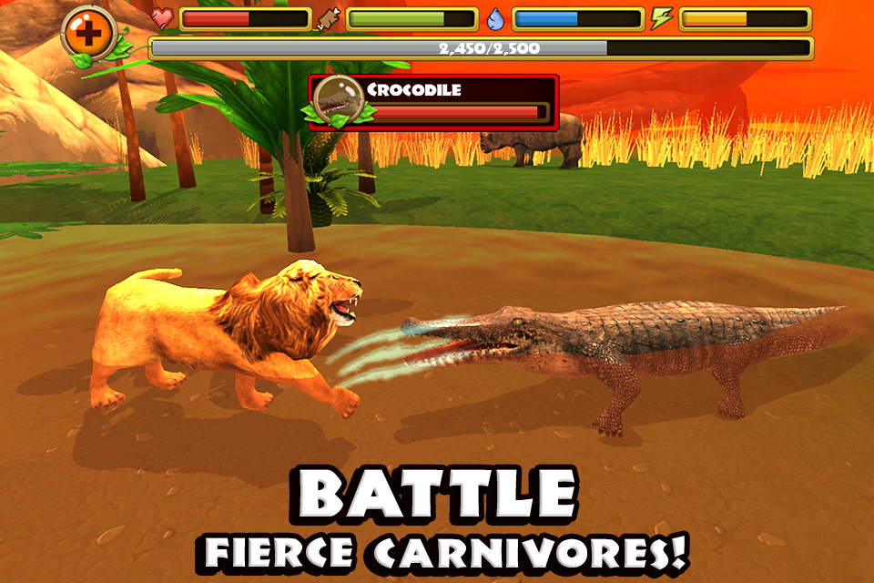 Safari Simulator: Lion- screenshot