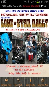 Galveston Bike Rally screenshot 0