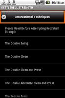 Screenshot of Kettlebell Strength+Fat Loss