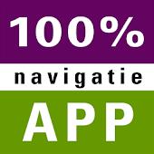 100% navigatie app