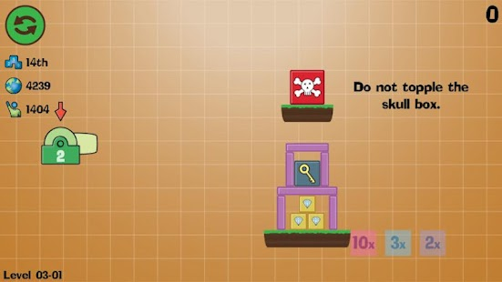 Box Topple - Knockdown!- screenshot thumbnail
