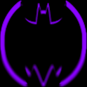 Purple Batcons Launcher Icons icon