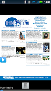 Industrial Hygiene News- screenshot thumbnail