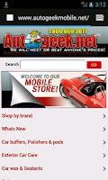 Screenshot of AutogeekOnline