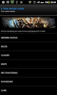 Tera Online Guide - screenshot thumbnail