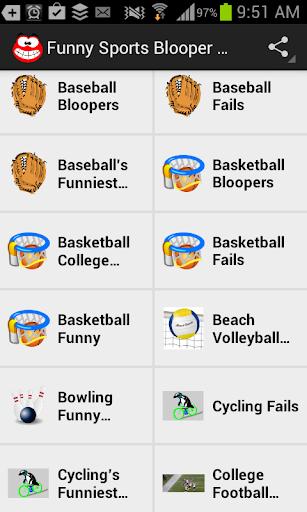 Funny Sports Blooper Videos