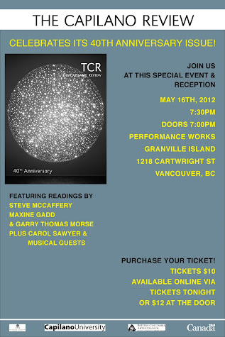 TCR's 40th anniversary special event and reception -- May 16