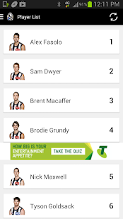 Collingwood Official App - screenshot thumbnail