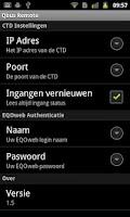 Screenshot of Qbus Remote