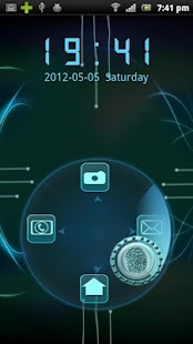 Rotating Finger Scanner Locker- screenshot thumbnail