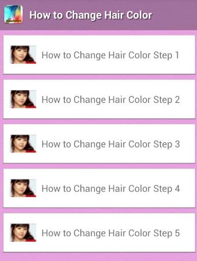 Magic Hair Color Tip