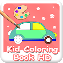Kid Coloring Book HD logo