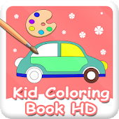 Kid Coloring Book HD