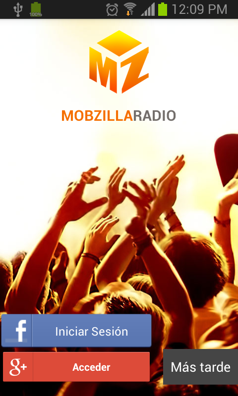 Mobzilla Radio- screenshot