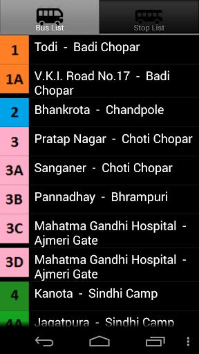 【免費旅遊App】Jaipur Bus-APP點子