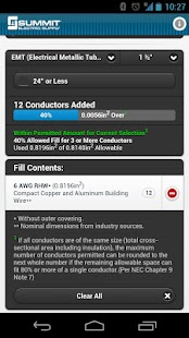 Conduit fill tracker android apps on google play conduit fill tracker screenshot thumbnail greentooth Images