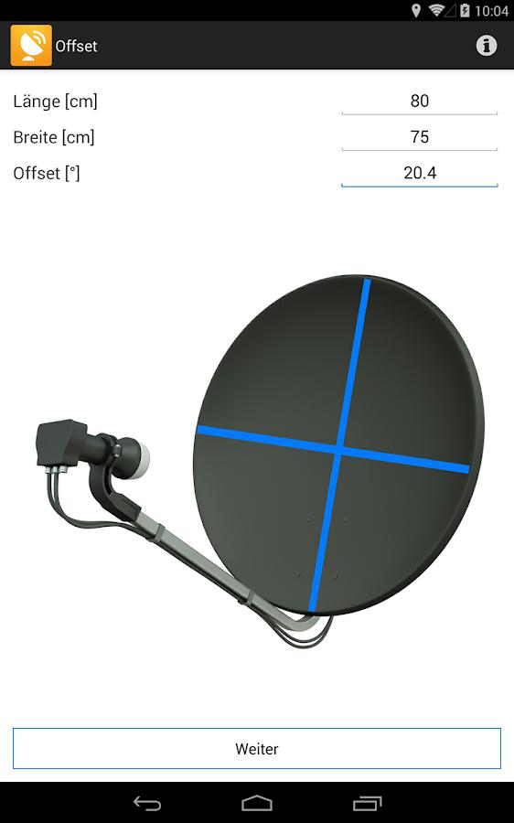 satellitensch ssel ausrichten android apps auf google play. Black Bedroom Furniture Sets. Home Design Ideas