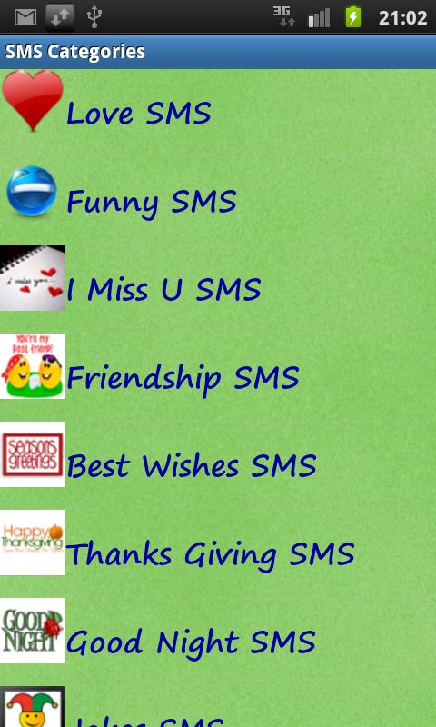 Ultimate SMS Collection- screenshot