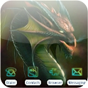Magical Dragon [SQTheme] ADW logo