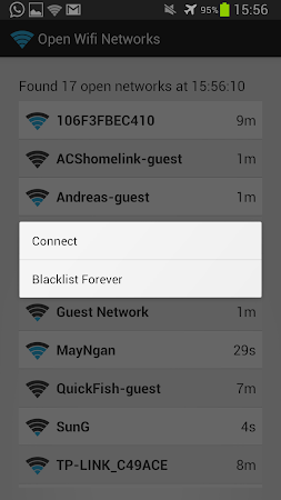 Open Wifi Network Finder 140.2165e7a screenshot 1467823