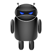 ADW Theme Droid Moonglow