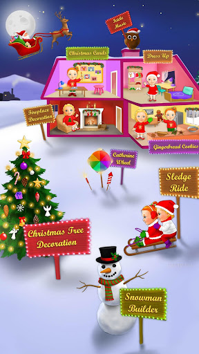 Sweet Baby Girl Christmas Fun