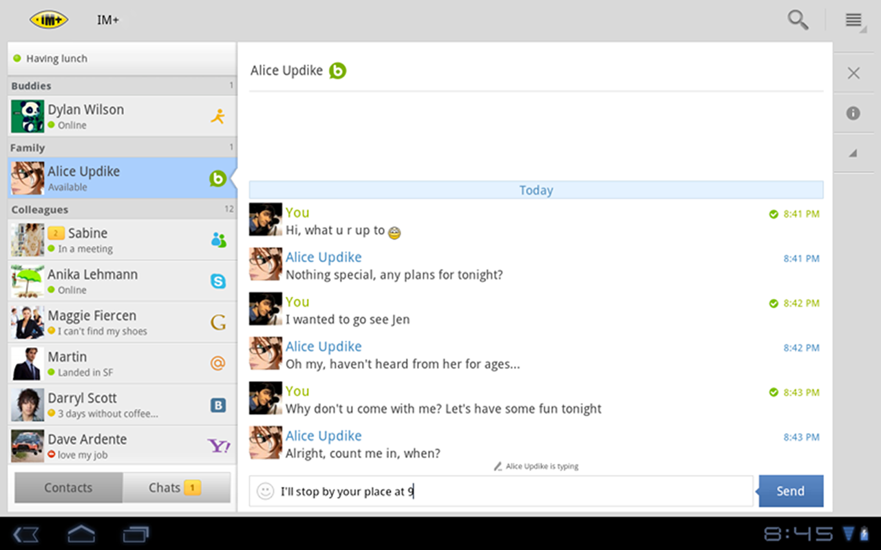 IM+ screenshot #9
