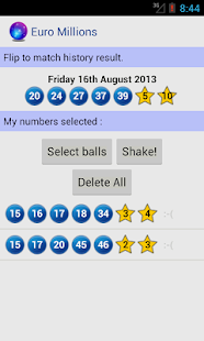 Euro Millions- screenshot thumbnail