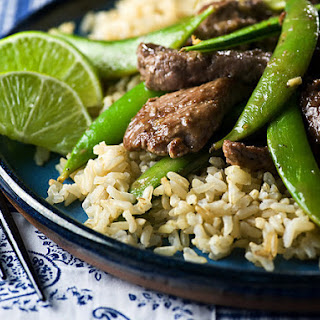 Beef Stir-Fry with Sugar Snap Peas.