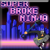 Super Broke Ninja! Runner Game