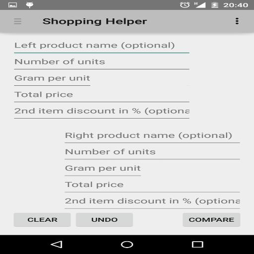 Shopping Helper