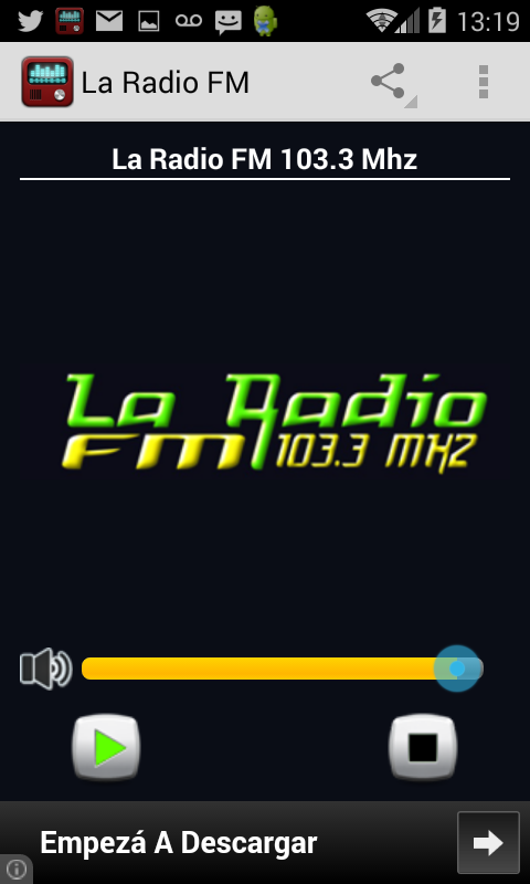 La Radio FM Chilecito- screenshot