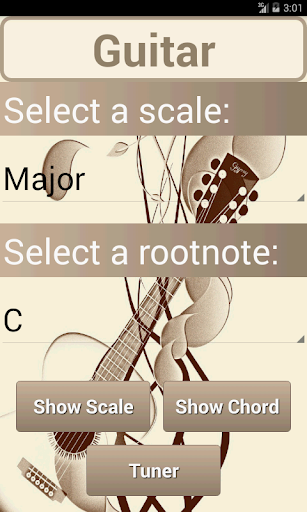 Scales Chords: 7 Guitar PRO