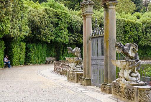 boboli-gardens-florence-italy - Boboli Gardens in Florence, Italy.