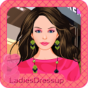 City girl – Fashion designer mobile app icon